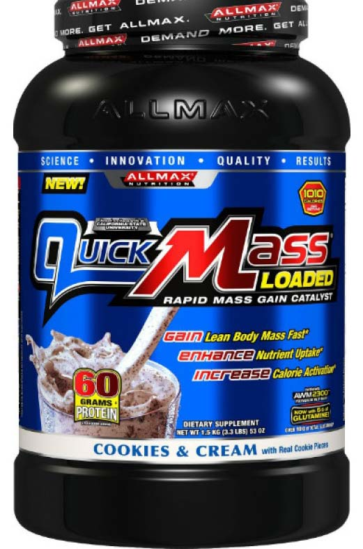 QuickMass Loaded AllMax (1500 гр)(годен до 08/2017)