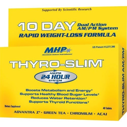 Thyro-Slim AM/PM (40 tab, 10 day)