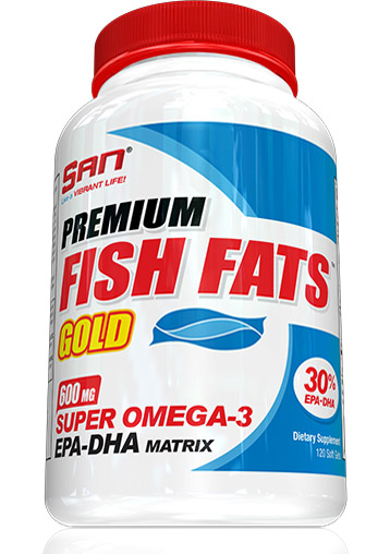 Premium Fish Fats Gold SAN (120 кап)