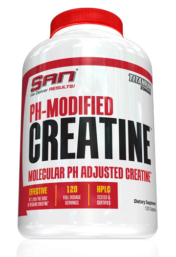 PH-Modified Creatine SAN (120 cap)