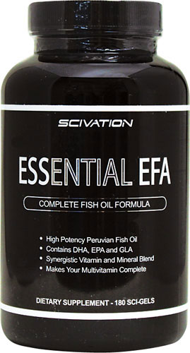 Essential EFA Scivation (180 cap)