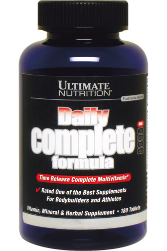 Daily Complete Formula Ultimate Nutrition (180 таб, 1000 мг)