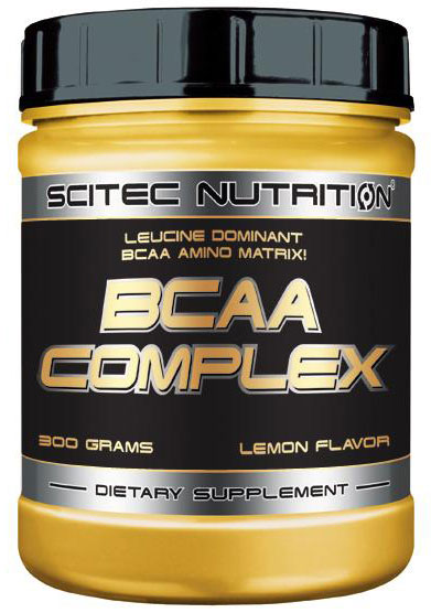 BCAA COMPLEX (MUSCLE BCAA) SCITEC NUTRITION (300 гр)