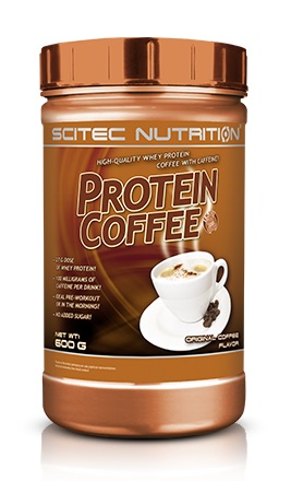 PROTEIN COFFEE SCITEC NUTRITION (600 gr)