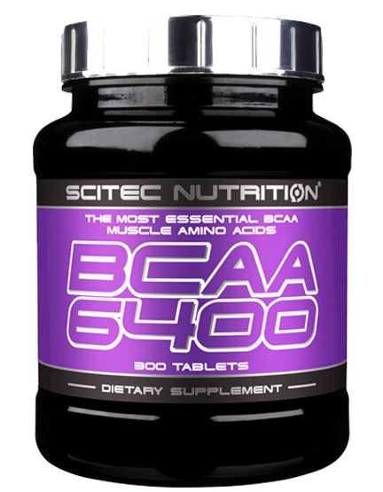 BCAA 6400 SCITEC NUTRITION (125 таб)