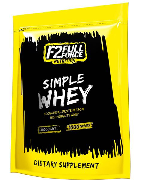 Simple Whey F2 Full Force Nutrition (1000 гр)