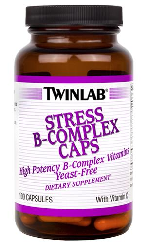 Stress B-Complex Caps With vit C Twinlab (100 cap)