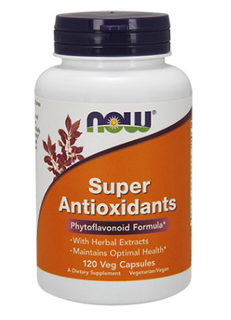 Super Antioxidants NOW (120 вег кап)