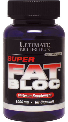 Super Fat Bloc (1000 мг Chitosan) Ultimate Nutrition (60 кап)