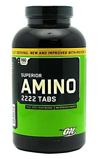 Superior AMINO 2222 NEW AND IMPROVED (320 tab)