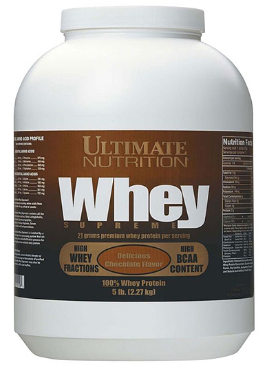 Whey Supreme Ultimate Nutrition (2270 гр)