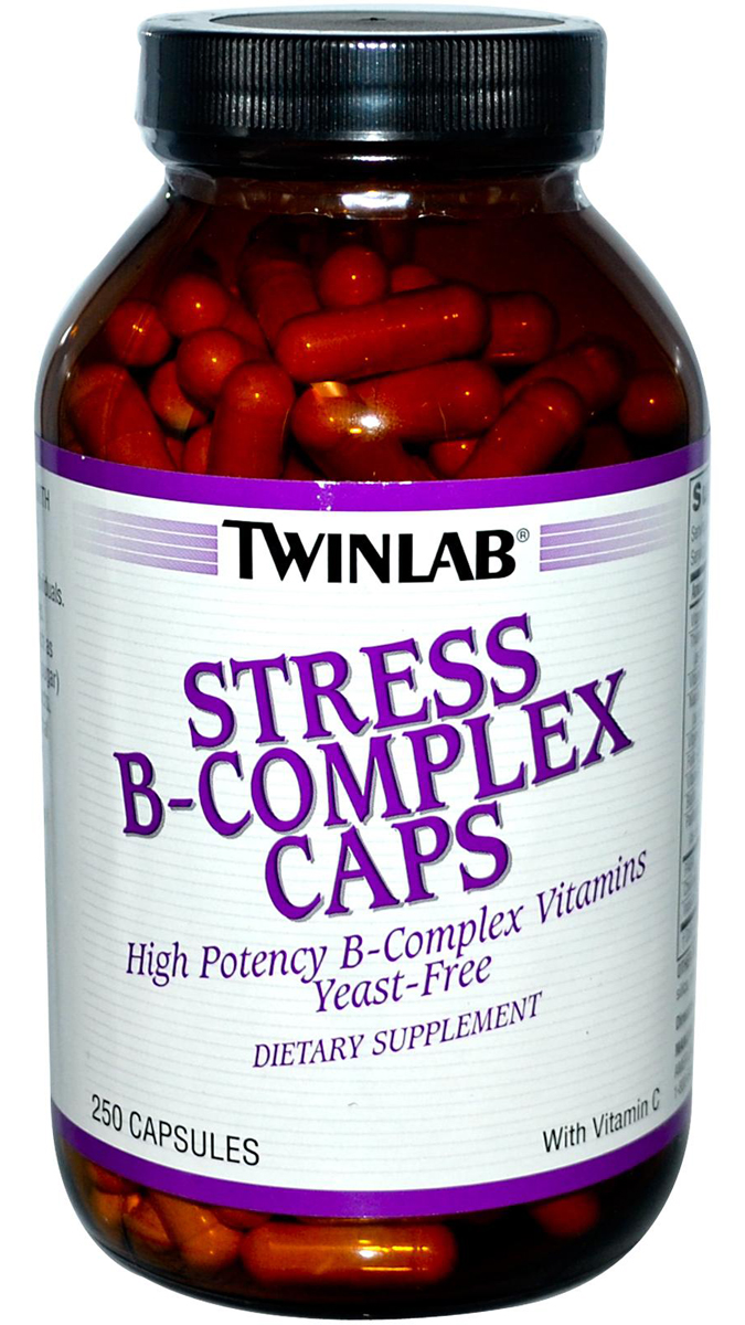 Stress B-Complex Caps With vit C Twinlab (250 cap)