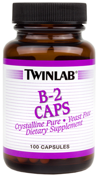 B-2 Caps 100 mg Twinlab (100 кап)
