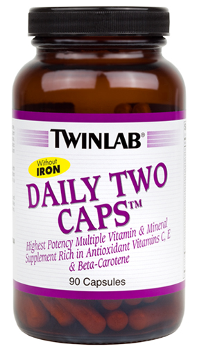Daily Two Caps Without Iron Twinlab (90 cap)