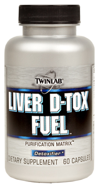 Liver D-Tox Fuel Twinlab (60 кап)
