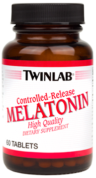 Melatonin - Controlled-Release 2 mg Twinlab (60 cap)