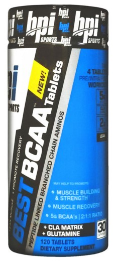 Best BCAA tablets BPI Sports (120 таб)