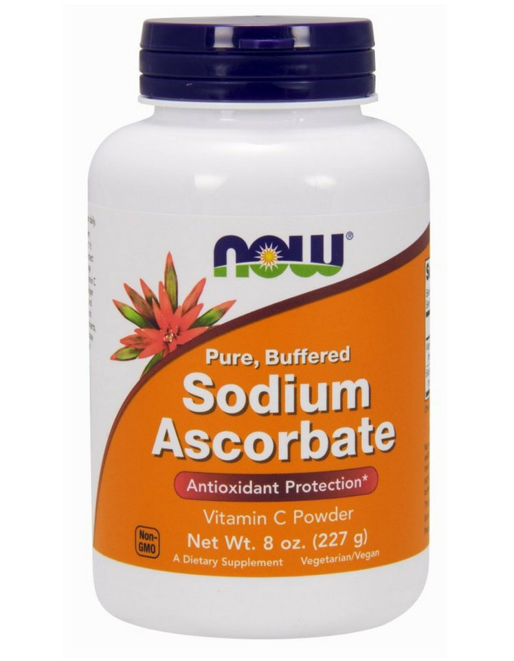 Sodium Ascorbate Powder 8 oz NOW (227 гр)