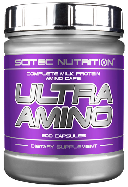 ULTRA AMINO SCITEC NUTRITION (200 кап)(годен до 02/2018)