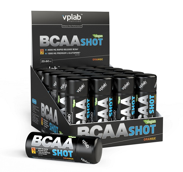 BCAA Shot VPLab Nutrition (20 ампул х 60 мл)
