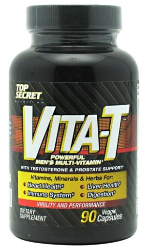 Vita-T Men\'s Multi Vitamin Top Secret Nutrition   (90 таб)