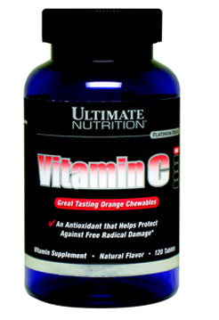 Vitamin C Ultimate Nutrition (120 таб)(годен до 07/2017)