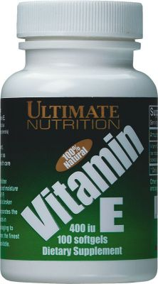 Vitamin E 400 Ultimate Nutrition (100 cap)