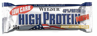 40% Low Carb High Protein Weider (50 gr)
