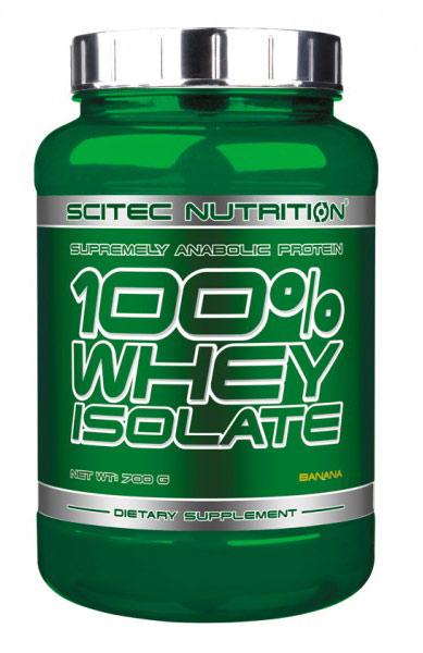 100% WHEY ISOLATE SCITEC NUTRITION (700 gr)