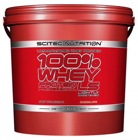 100% WHEY PROTEIN PROFESSIONAL LS SCITEC NUTRITION (5000 gr)