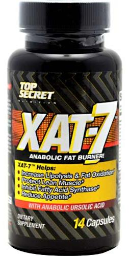 XAT-7 Fat Burner Extreme Top Secret Nutrition (14 cap)