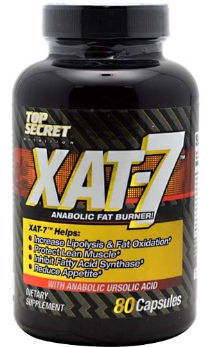 XAT-7 Fat Burner Extreme Top Secret Nutrition (80 cap)