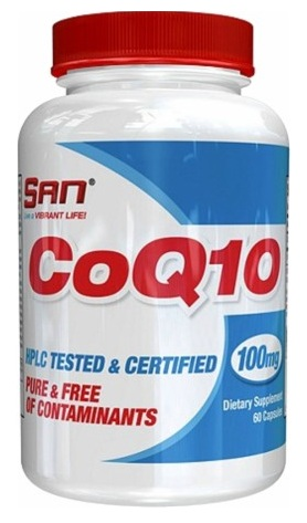CoQ10 100 mg SAN (60 caps)