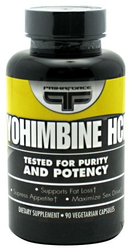 Yohimbine HCl PrimaFORCE (90 вег кап)
