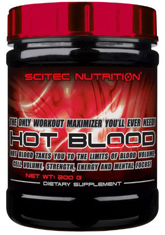 HOT BLOOD SCITEC NUTRITION (300 гр)