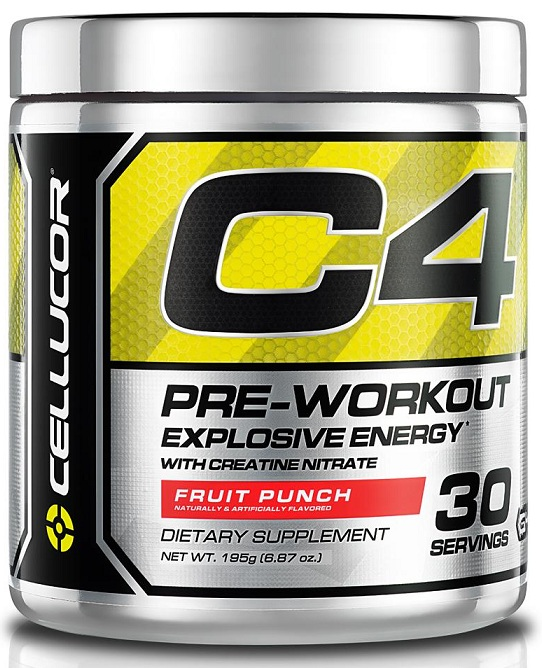 C4 Pre Workout Cellucor (195 гр, 30 порций)