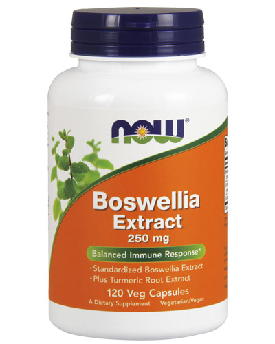 Boswellia Extract 250 mg NOW (120 вег кап)