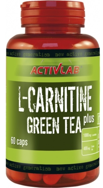L-Carnitine Plus Green Tea ActivLab (60 cap)
