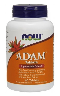 ADAM Superior Men's Multiple Vitamin NOW (60 Tab)