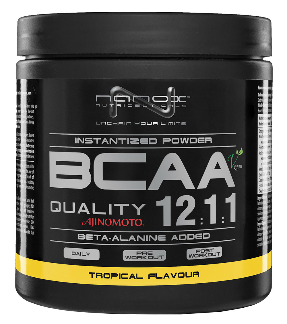 BCAA powder 12:1:1 Nanox (300 g)