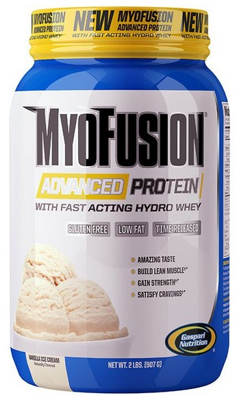 MyoFusion Advanced Protein Gaspari Nutrition (900 гр)