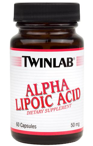Alpha Lipoic Acid 50 mg Twinlab (60 кап)
