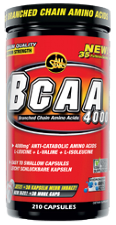 BCAA 4000 All Stars (180+30 cap)