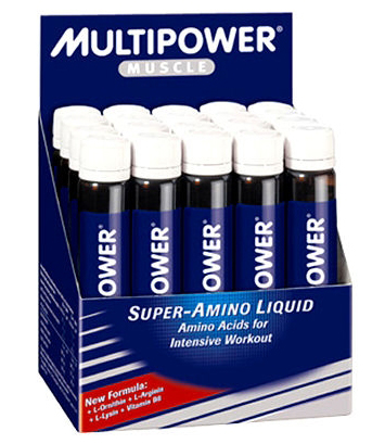 Super Amino Liquid Multipower (20 amp x 25 ml)