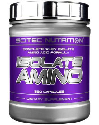 ISOLATE AMINO SCITEC NUTRITION (250 кап)