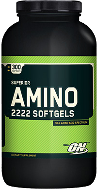 Superior Amino 2222 Softgels (150 гелькап)