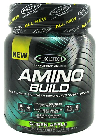 Amino Build MuscleTech (435-445 гр)