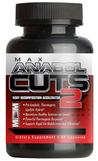 Max Anabol Cuts 2 Max Muscle (60 cap)