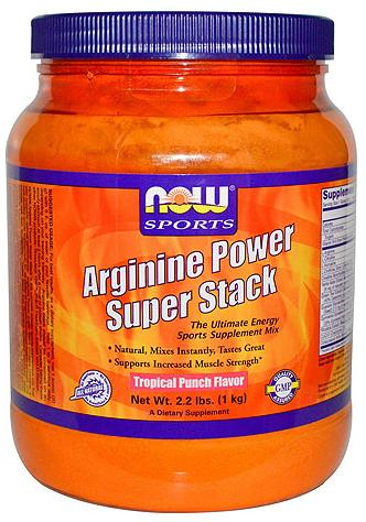 Arginine Power Super Stack NOW (1000 гр)