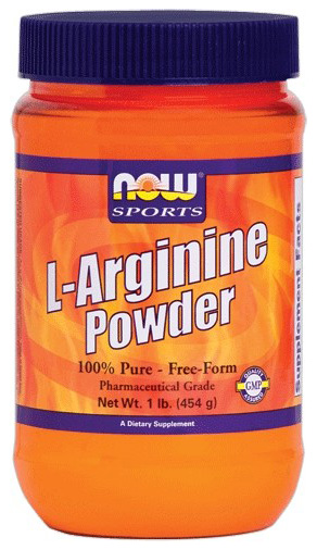 L-Arginine Powder NOW (454 гр)